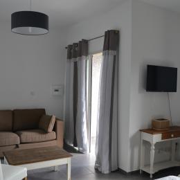 Coin salon chambre Tamarin - Chambre d'hôtes - Saint-Leu