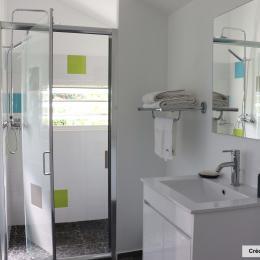Salle de bains - Chambre d'hôtes - Saint-Leu