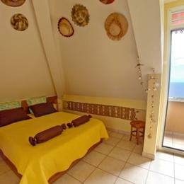 Chambre 1 lit 160 - Location de vacances - Saint-Leu