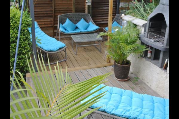 Pergola *espace détente* - Location de vacances - Saint-Louis
