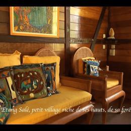 Coin détente - Location de vacances - L'Étang-Salé