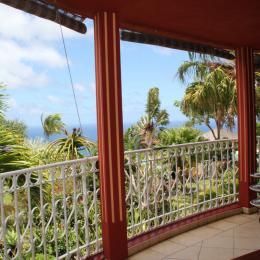 Terrasse panoramique vue mer et jardin tropical - Location de vacances - Saint-Leu