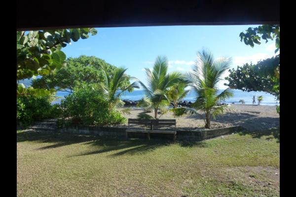 Vue du bungalow - Chambre d'hôtes - Taiarapu-Est