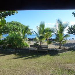 Bungalow vu de la plage - Chambre d'hôtes - Taiarapu-Est