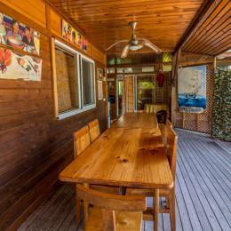 Table d'hôtes - Chambre d'hôtes - Rangiroa